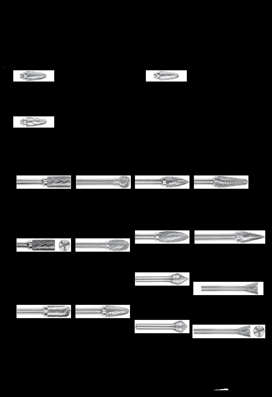 Carbide Burr By Diamohard Cross Tools Co